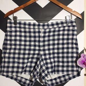 J. Crew plaid checkered shorts